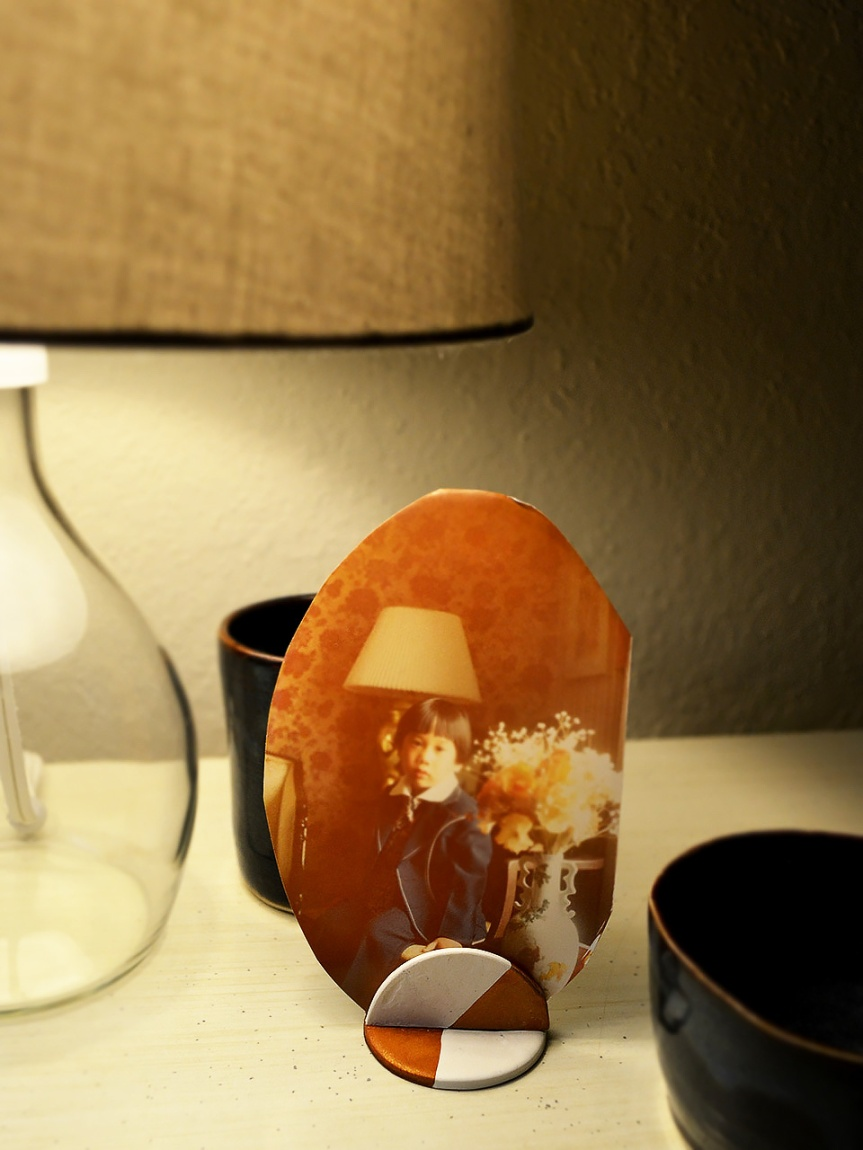 Mug Makes! Polymer Clay PhotoStand